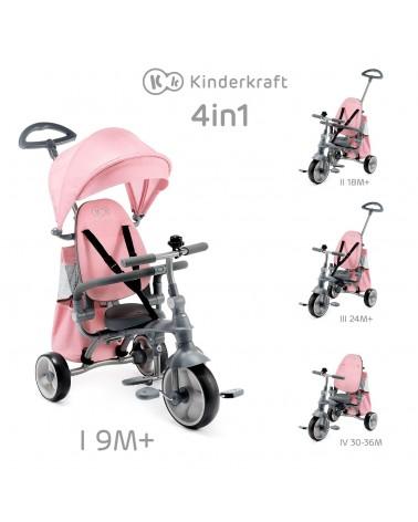 TRICICLO INFANTIL PLEGABLE JAZZ DE KINDERKRAFT