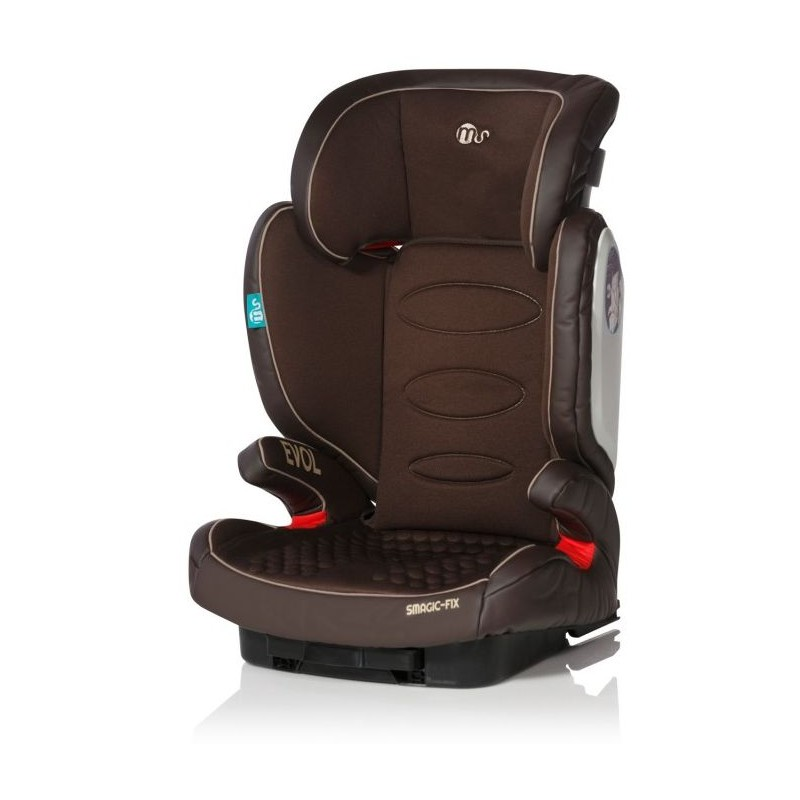 Silla de coche smagic fix ms color chocolate - Altura para ir sin silla en el coche ...