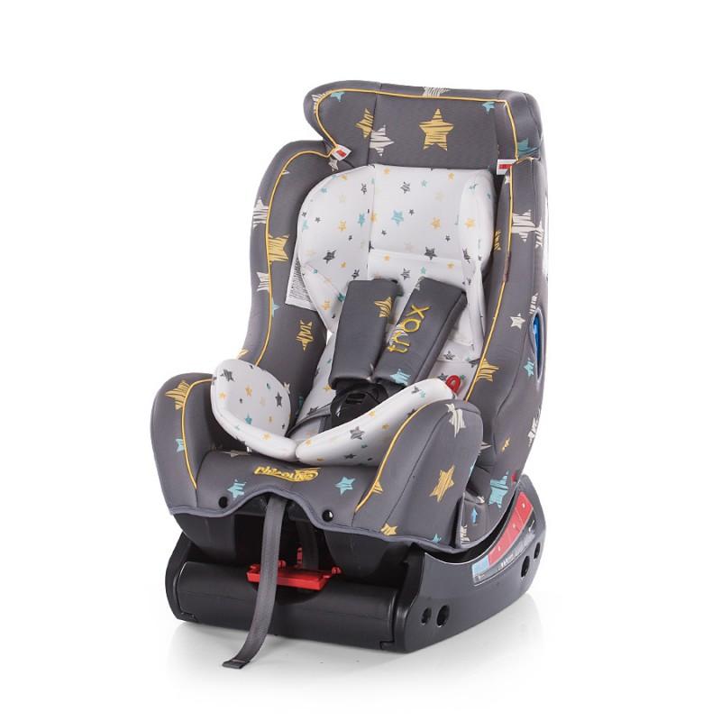 Silla de coche 0 1 2 trax stars graphite de chipolino for Silla coche grupo 0 1 2