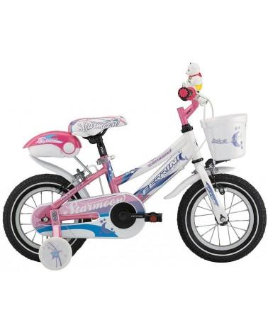 "Bicicleta infantil de 12"" STARMOON color rosa"