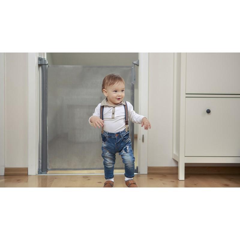 Barrera de puertas para bebes tulia negro - Puertas seguridad bebes ...