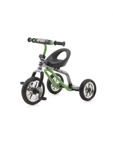 Triciclo para niños Chipolino Sprinter Green