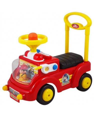 ANDADOR COCHE RIDE ON CAR FIREMAN ROJO CHIPOLINO