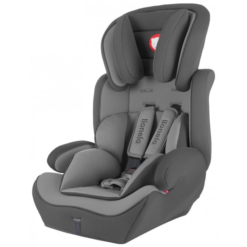 Lionelo silla de coche levi plus grey grupo 1 2 3 for Sillas de coche grupo 0 1 2 3