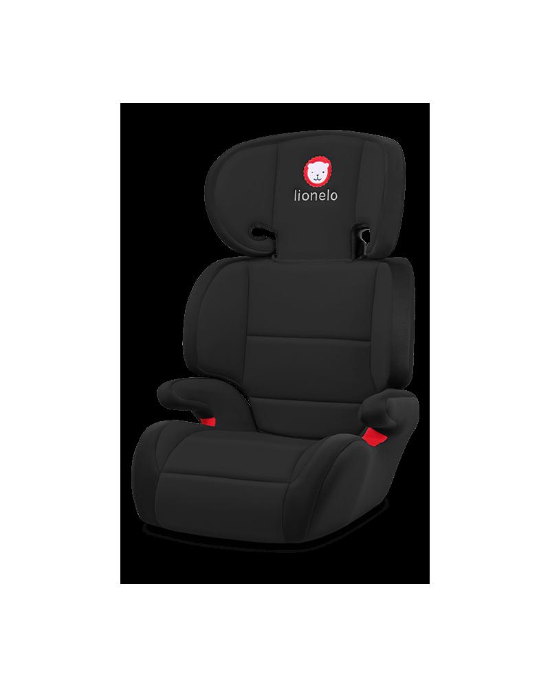 Lionelo silla de coche lars black grupo 2 3 for Sillas de coche grupo 3