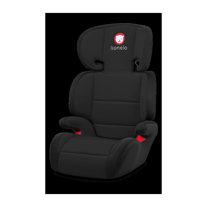 Lionelo silla de coche lars black grupo 2 3 for Sillas de coche para ninos grupo 3