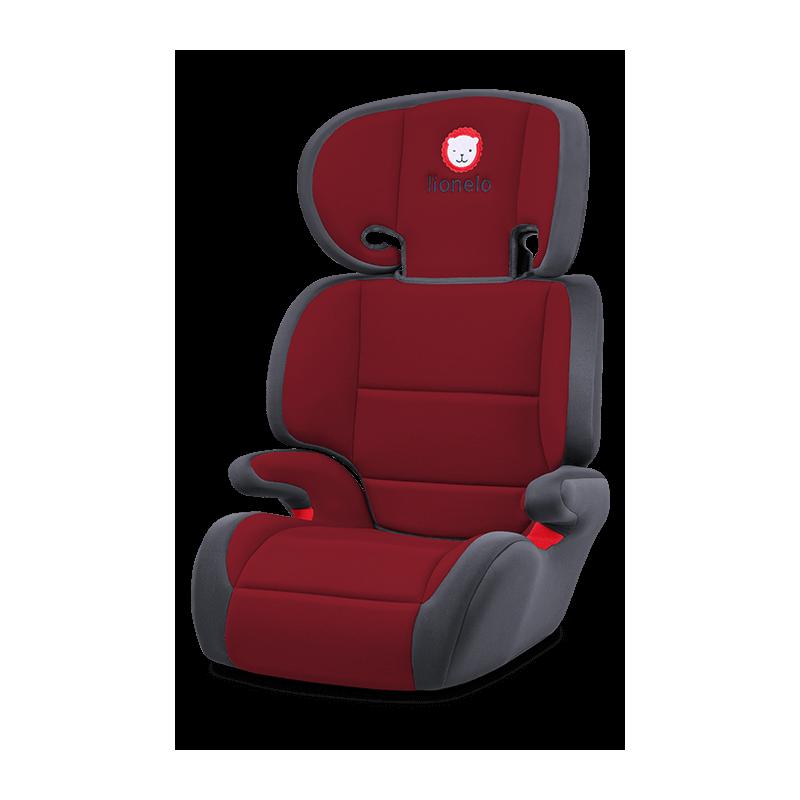 Lionelo silla de coche lars red grupo 2 3 for Silla coche grupo 2 3