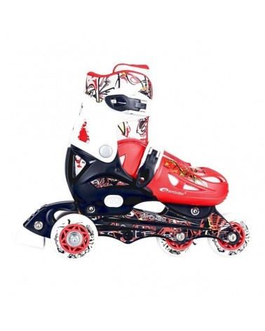 PATINES JUNIOR NIPPER ROJO SPOKEY
