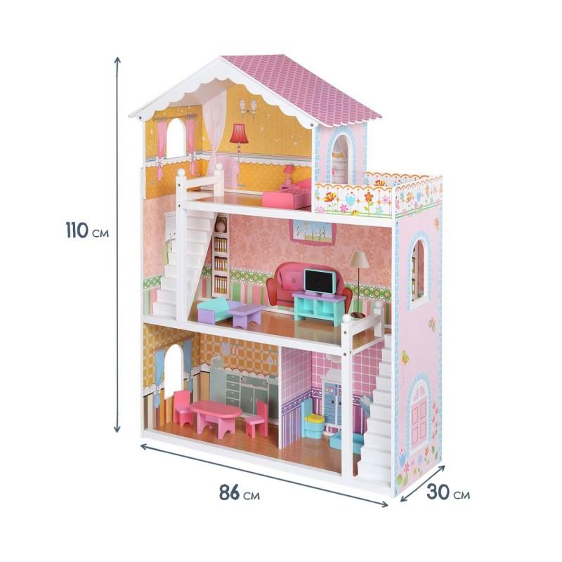 Casa de mu ecas con accesorios violetta baby vivo - Accesorios para casa de munecas ...