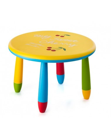 MESA REDONDA INFANTIL YELLOW CHERRY