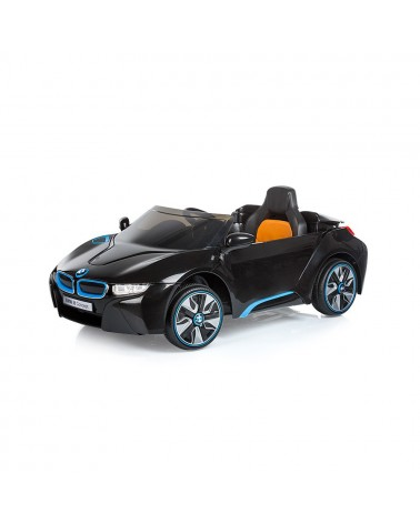 COCHE TELEDIRIGIDO BMW i8 CONCEPT NEGRO CHIPOLINO